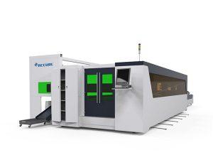 металл хоолой ба хавтан шилэн өндөр хурдны лазер хэрчих машин 1500w эргэдэг төхөөрөмжтэй