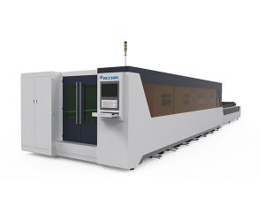 металл боловсруулах үйлдвэрлэлийн лазер хэрчих машин бүрэн бүрхэгдсэн төрөл 1000w