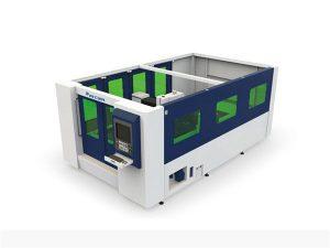 мини 500w шилэн лазер хэрчих машин нь хаалттай хоолой, хуудас
