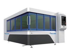 Гэрлийн систем бүхий 500w металл шилэн лазер хэрчих машин ир хүснэгт