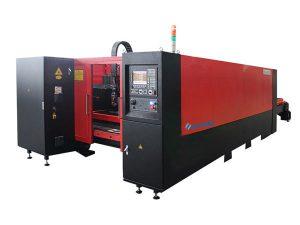 Нүүрстөрөгчийн ган огтлох зориулалттай 1000w аж үйлдвэрийн лазер хэрчих машин нь дуу чимээ багатай өндөр нарийвчлалтай