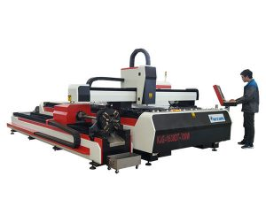 шилэн лазер металл зүсэх машин 500w 800w 1kw 800mm / s хурдтай