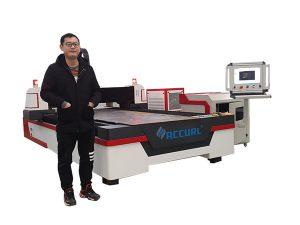шугаман гарын авлага хөтлөгч cnc лазер хоолой огтлох машин зэс / титан