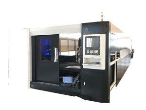 хуудас металл зэвэрдэггүй ган шилэн лазер хэрчих машин 1000w өндөр нарийвчлалтай
